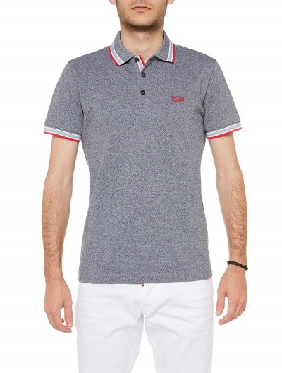 BOSS ATHLEISURE 'PADDY' PIQUE POLO ΜΠΛΟΥΖΑ