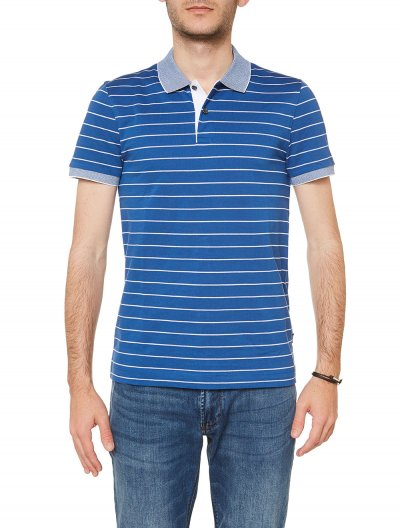 BOSS 'PHILLIPSON29' SLIM POLO ΜΠΛΟΥΖΑ