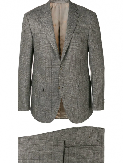 CORNELIANI WOOL/SILK SUIT