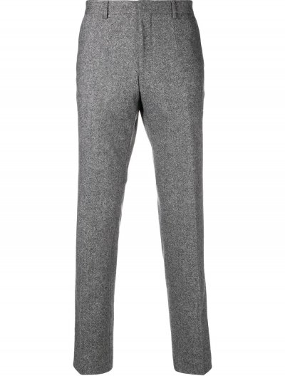BOSS 'GIRO5' WOOL/SILK PANTS