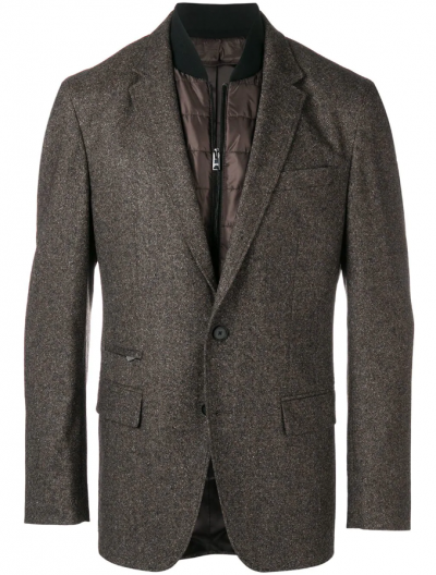 BOSS 'HADIK1' WOOL/SILK JACKET