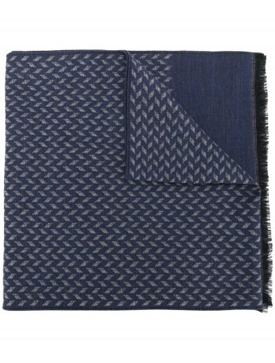 CORNELIANI WOOL/SILK SCARF