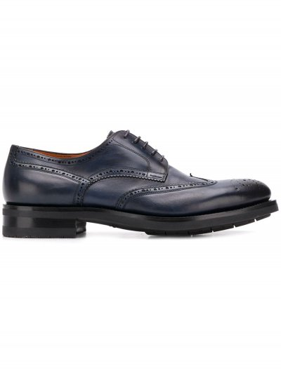 SANTONI DERBY SHOES