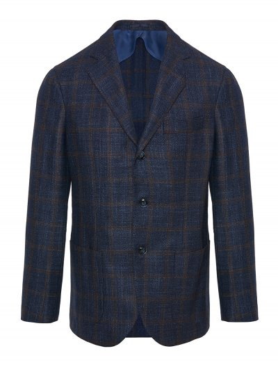 BARBA NAPOLI WOOL/SILK/CASHMERE JACKET
