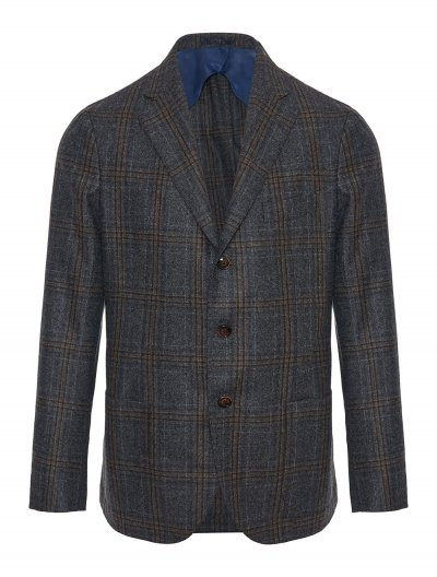 BARBA NAPOLI WOOL JACKET