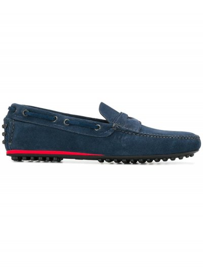 CAR SHOE SUEDE LOAFERS