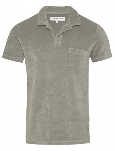 ORLEBAR BROWN 'TERRY' POLO SHIRT