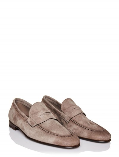 BARRETT SUEDE LOAFERS
