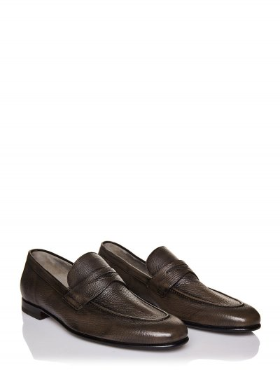 BARRETT LEATHER LOAFERS