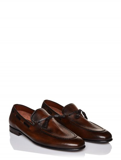 BARRETT LEATHER TASSEL LOAFERS
