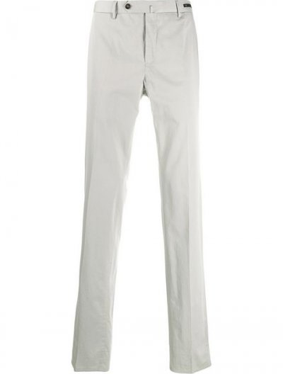 PT01 COTTON/SILK SLIM PANTS