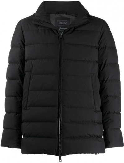 HERNO LAMINAR WINDSTOPPER HOODED JACKET