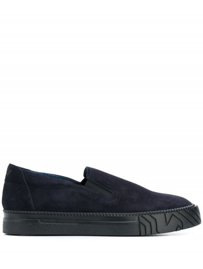 EMPORIO ARMANI SLIP-ON SNEAKERS