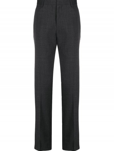 BOSS 'GENIUS5' WOOL SLIM PANTS