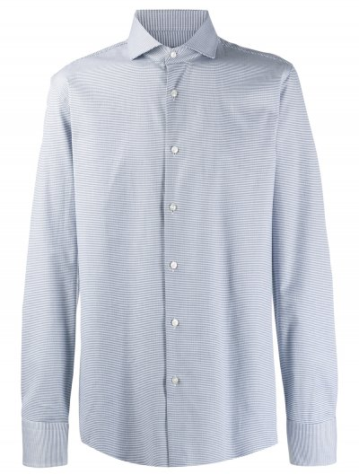 BOSS 'JASON' SLIM SHIRT WITH EGYPTIAN COTTON