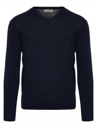 PRIVATI FIRENZE WOOL V-NECK KNITWEAR