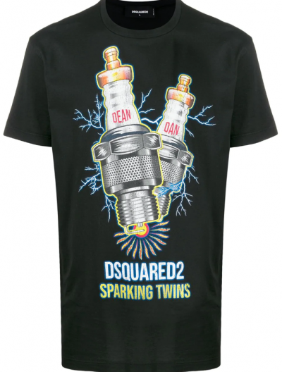DSQUARED2 'SPARKING TWINS' T-SHIRT