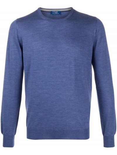 BARBA NAPOLI WOOL/SILK KNITWEAR