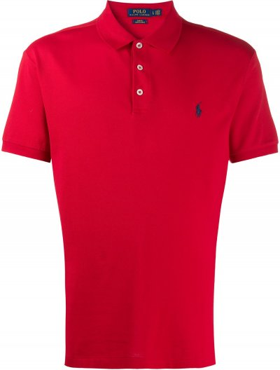 POLO RALPH LAUREN SLIM POLO ΜΠΛΟΥΖΑ