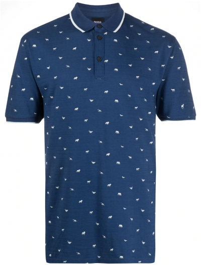 BOSS CASUAL 'PEJACK' POLO ΜΠΛΟΥΖΑ