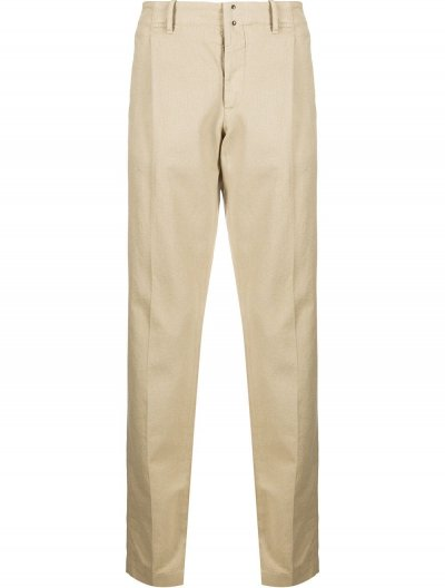 INCOTEX SLIM PLEATED TROUSERS