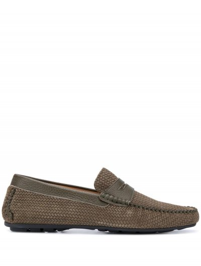 CORNELIANI SUEDE LOAFERS