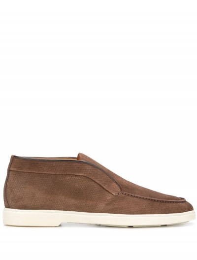 SANTONI MID CASUAL LOAFERS