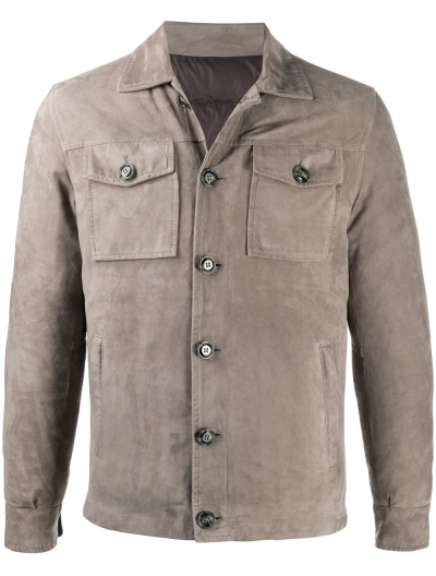 BARBA LEATHER JACKET