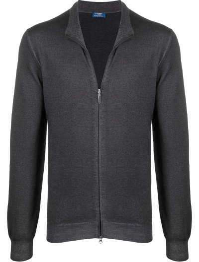 BARBA NAPOLI WOOL CARDIGAN