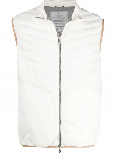 BRUNELLO CUCINELLI MATTE NYLON LIGHTEWEIGHT VEST