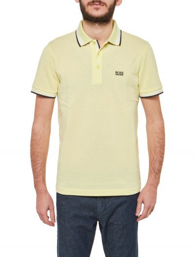 BOSS GREEN 'PADDY' POLO ΜΠΛΟΥΖΑ