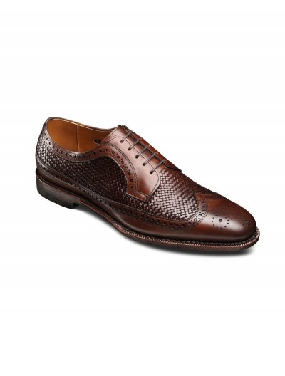 ALLEN EDMONDS CHILI LEIDEN WEAVE