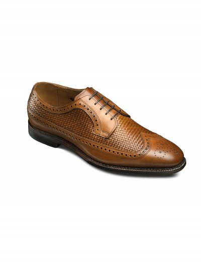 ALLEN EDMONDS WALNUT LEIDEN WEAVE