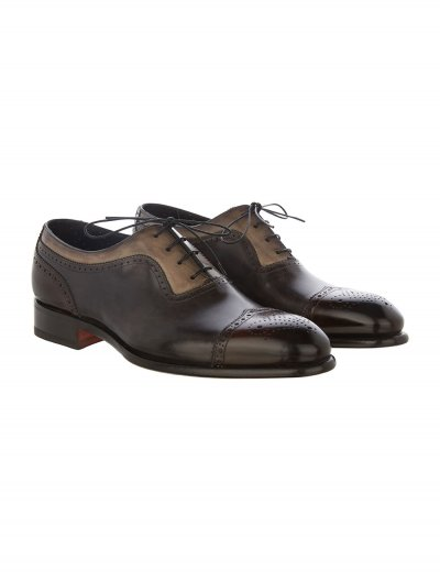 SANTONI OXFORD SHOES