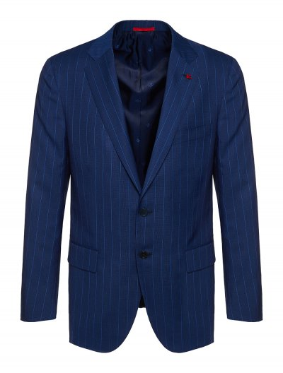 ISAIA 'TIMELESS' SUPER 140 STRIPED SUIT
